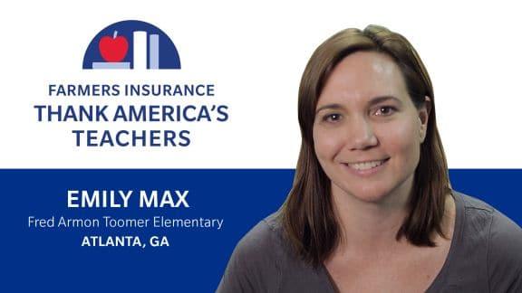 Emily Max - Farmers Insurance banner