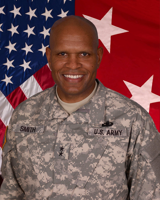 Two-star U. S. Maj. Gen. Leslie Smith