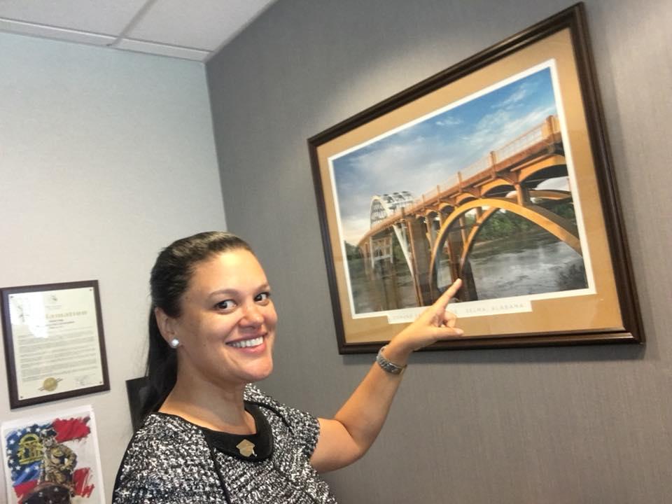 Dr. C - Edmund Pettus Bridge Picture (2018)