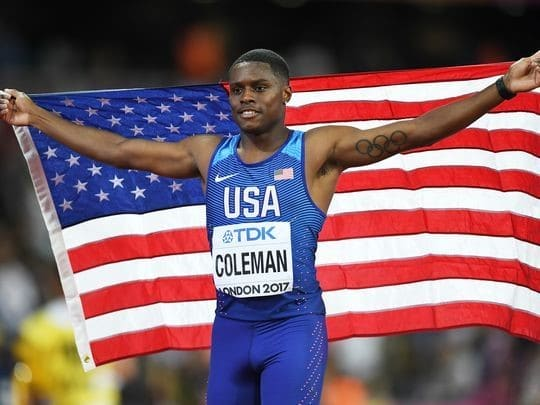 Christian Coleman - 2017 World Championships